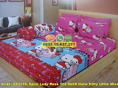 Harga Sprei Lady Rose 160 Motif Hello Kitty Little Miss Jual