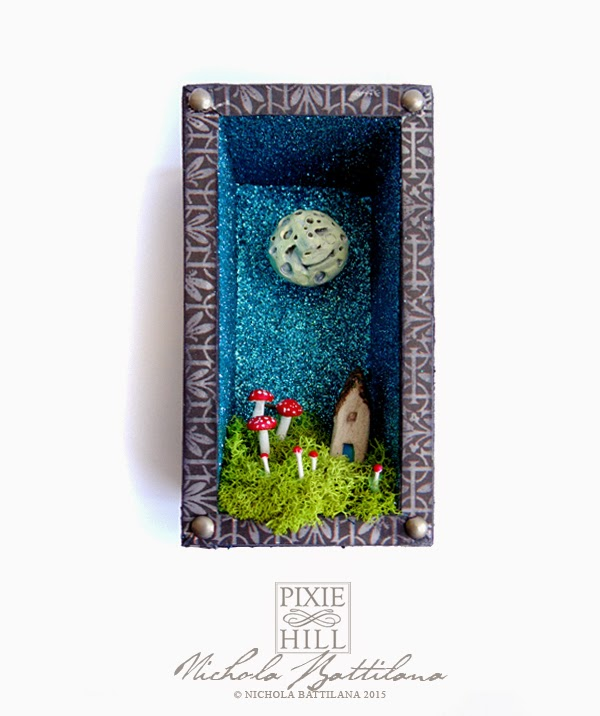 Happy little moon shrine - Nichola Battilana