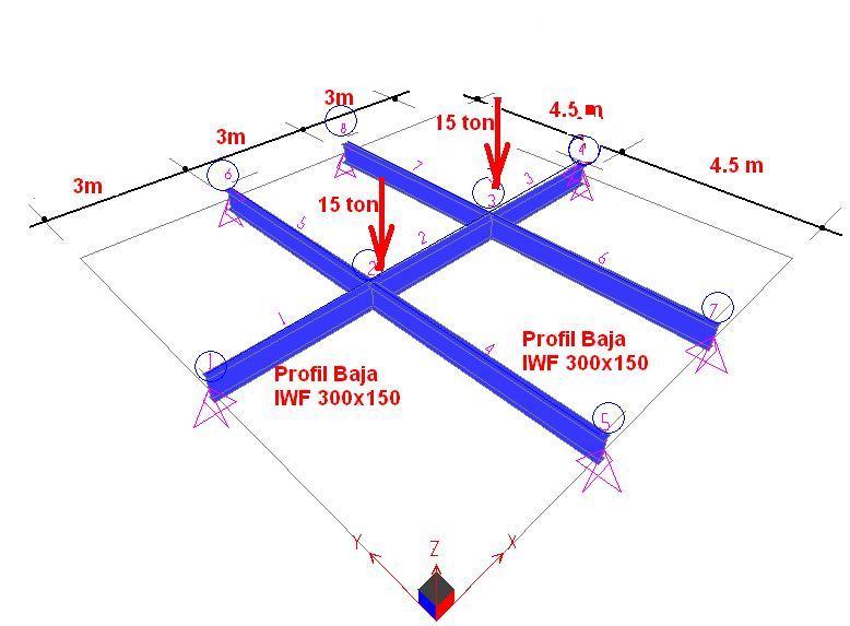 Analisa Struktur 4 Soal Ujian As4 Nomor 5 Dan Nomor 6