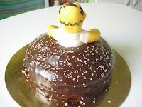 Tarta Fondant_Homer Simpson