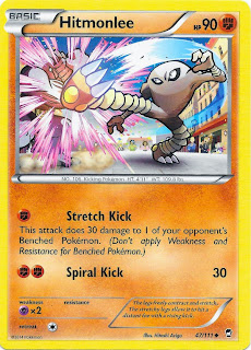 Hitmonlee Furious Fists Pokemon Card