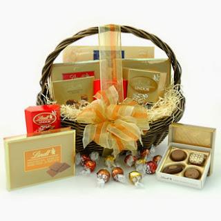 Cestas de Chocolate, Regalos de Navidad.
