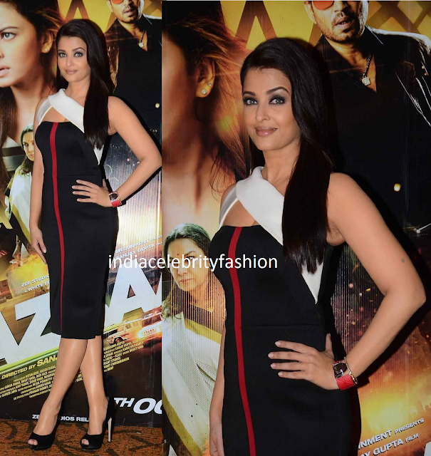 Aishwarya rai in Gauri & Nainika for jazbaa promotions