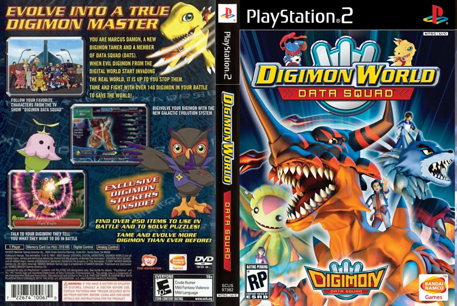 Torrent Super Compactado Digimon World Data Squad PS2