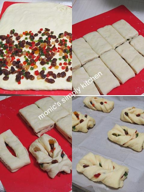 cara membuat roti buah kering