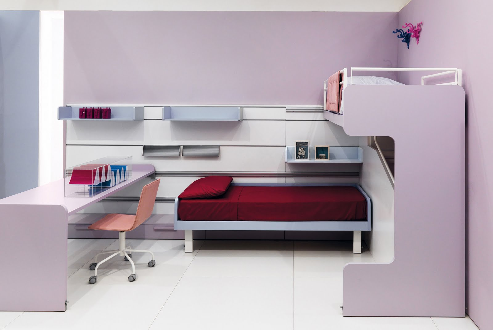 Decora el hogar dormitorios modernos y juveniles for Juego de habitacion moderno