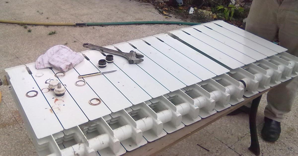 Fontaneria ro ma fuga de agua en radiador de calefaccion - Radiador agua calefaccion ...
