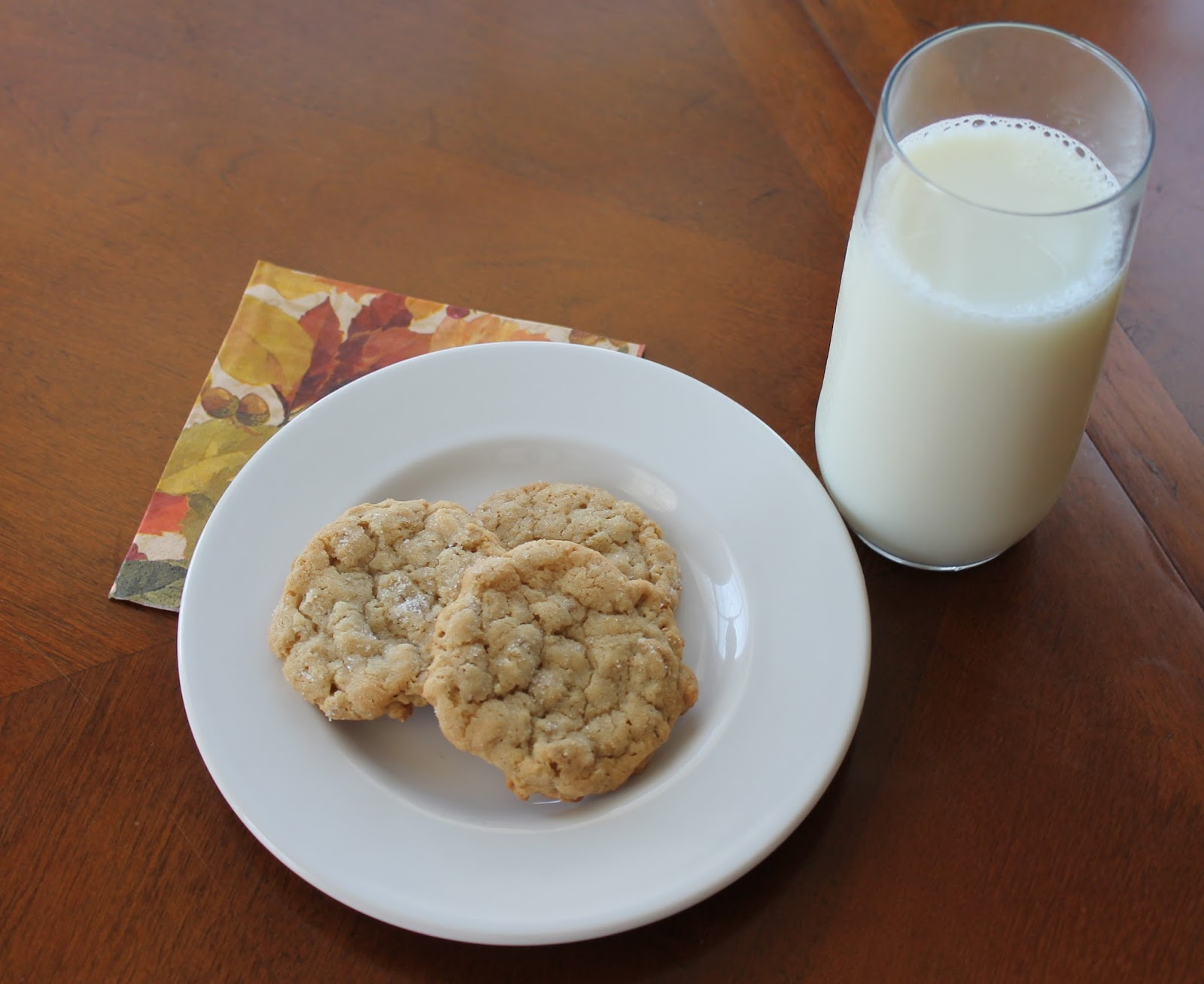 At Home on the Meadow: Grandma's Old Fashioned Oatmeal Cookies