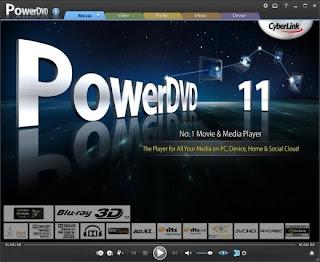 Cyberlink PowerDVD Ultra 11.0.1620.51 + Crack CyberlinkPowerDVD11
