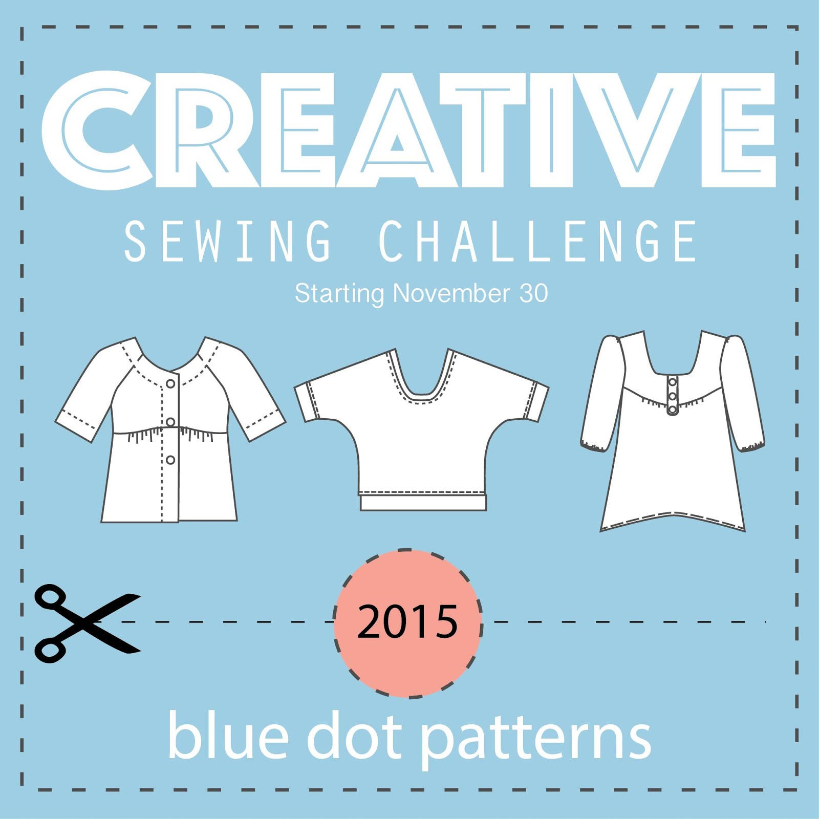 Blue Dot Sewing   Challenge