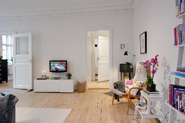 astile nordico arredamento interni : Un peque?o apartamento escandinavo Ideas para decorar, dise?ar y ...