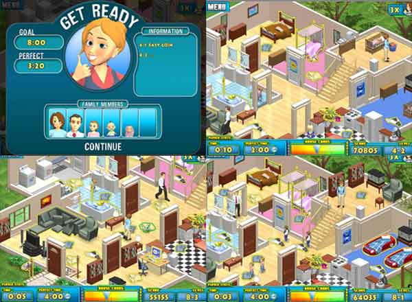 gratis download free Game Nanny Mania