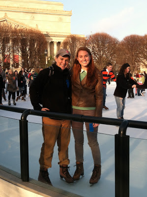 Ice Skating on the National Mall