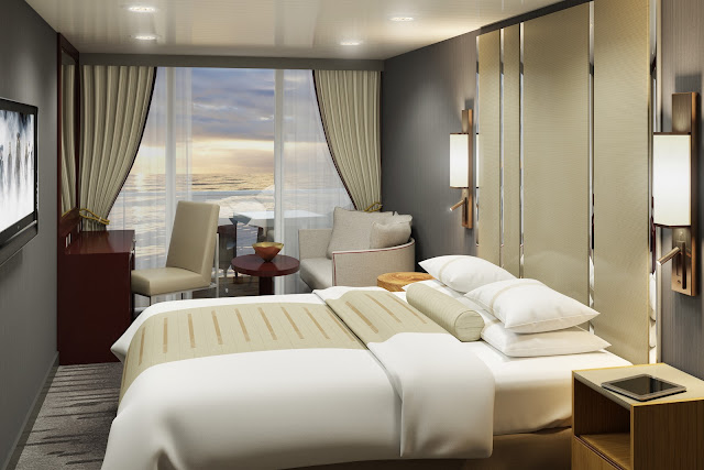 Staterooms will undergo total makeovers from floor to ceiling!