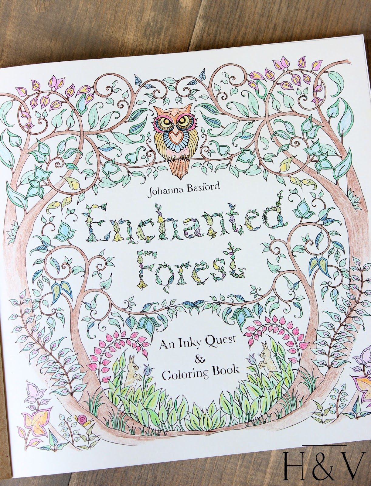 Secret Garden Coloring Book Create Tote Giveaway