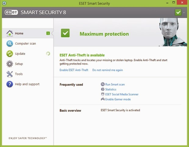 ESET Smart Security 8.0.304.0 Full Serial