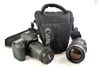 Camera Case Bag For Canon EOS 7D 5DⅡ 550D 1000D 600D Rebel T3i T3 T2i T1i XSi XS