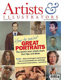 Artist and Illustrator Magazine June 2013