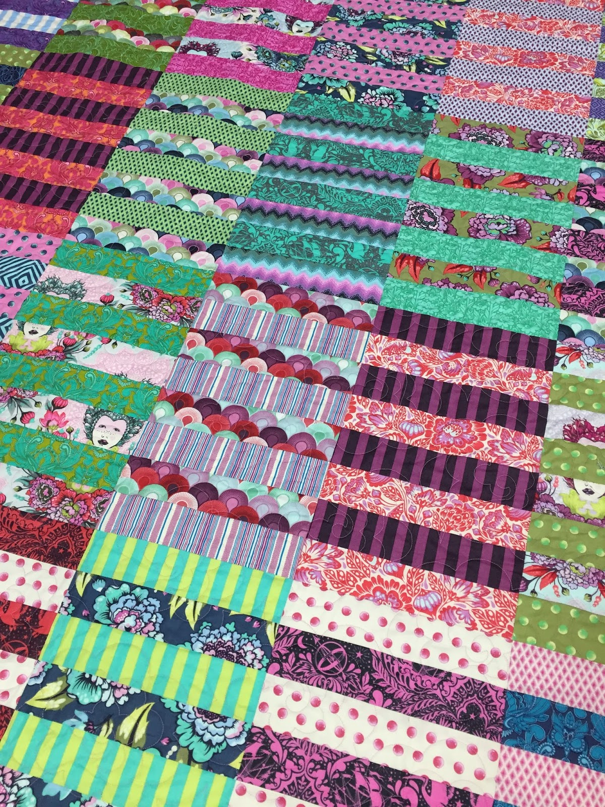 Tracy S Bits N Pieces Lolly Quilt