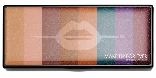 Make Up For Ever: Artist Palette, Limited Edition, Fall 2014 Collection
