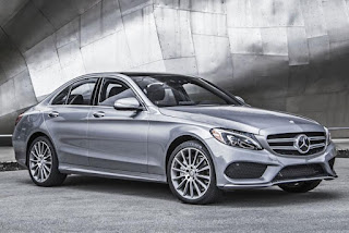 2015 All New Mercedes-Benz C-Class exclusive front view