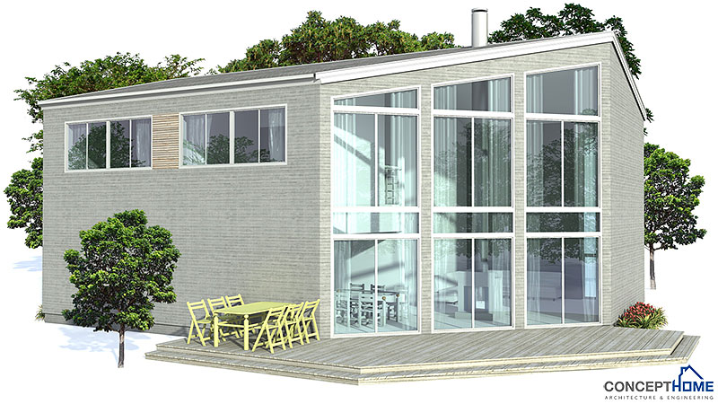 contemporary house plans contemporary home plan ch155