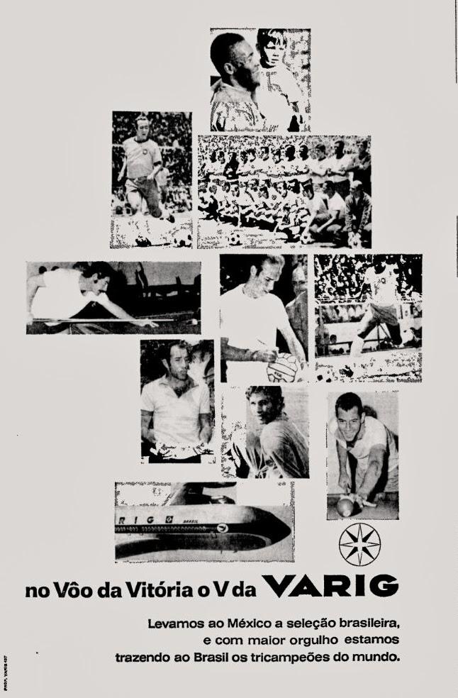 Copa do mundo de 70; propaganda década de 70; Brazil in the 70s; Reclame anos 70; História dos anos 70.