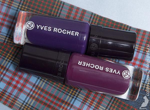 Yves Rocher #33 Pivoine + #34 Iris