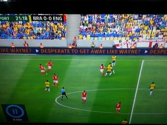 Cheeky advert pokes fun at want-away Wayne Rooney