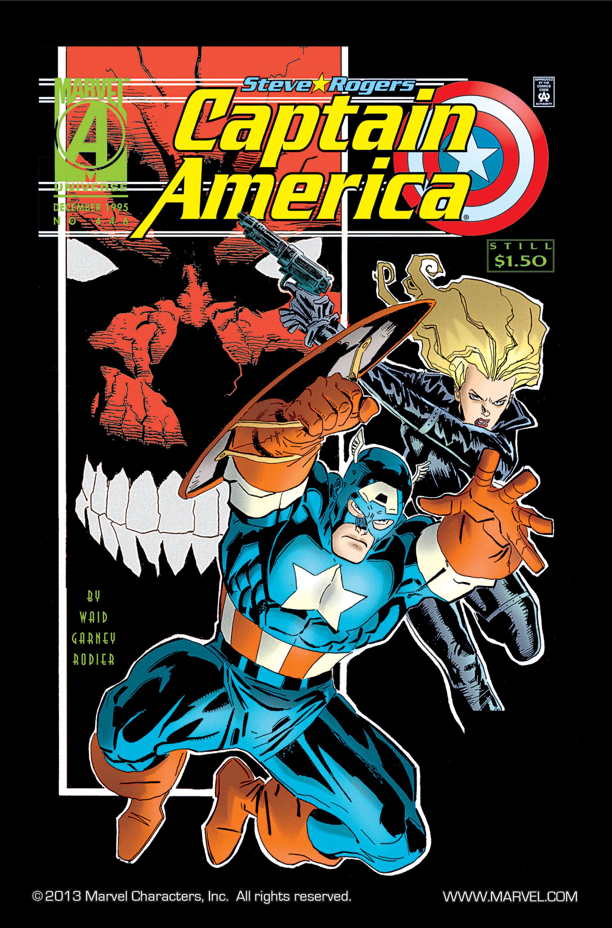 Captain America (1968) Issue #446 #400 - English 1
