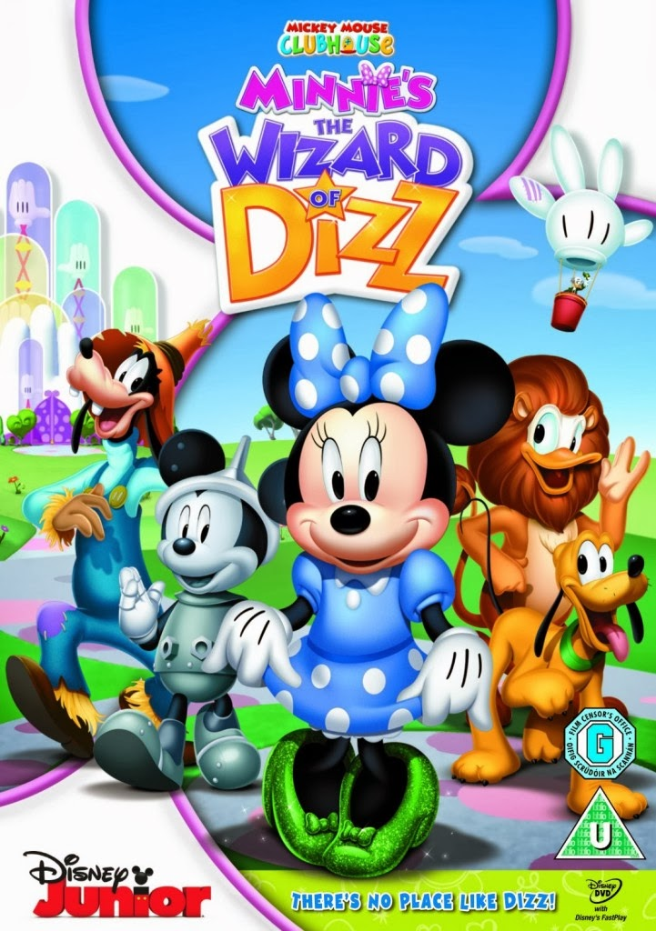ดูการ์ตูน บ้านมิคกี้แสนสนุก ตอน พ่อมดพายุหมุน Mickey Mouse Clubhouse Minnie s the Wizard of Dizz