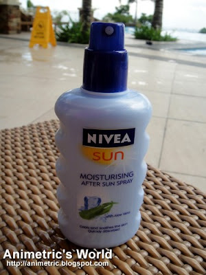 Nivea Sun Moisturizing After Sun Spray