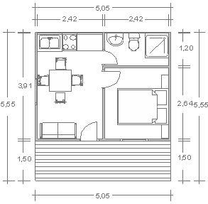 Construcciones wormald planos modelo casas de madera - Planos casa de madera ...