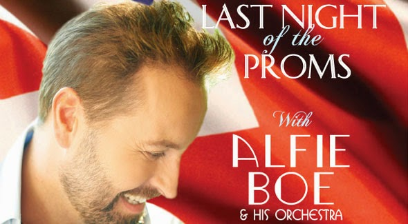 last night of the proms featuring alfie boe