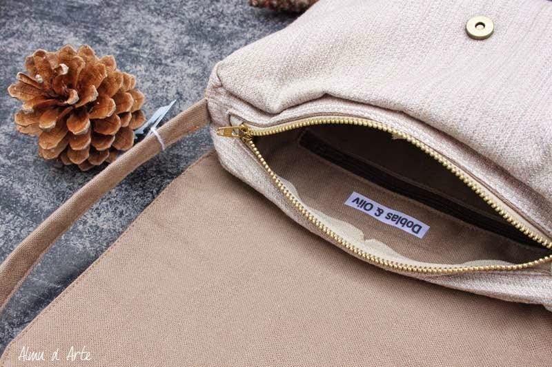 Bolso de tela hecho a mano de calidad