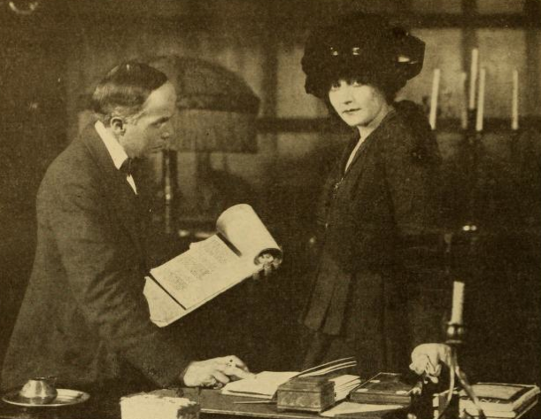 Mary MacLane with director Arthur Berthelet