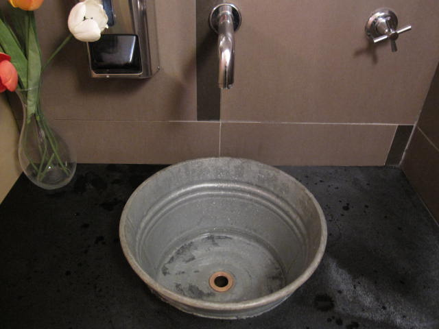 My Husband And I Did Our Kitchen Sink Out Of A Galvanized Wash