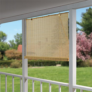 Bamboo Blinds and Curtains
