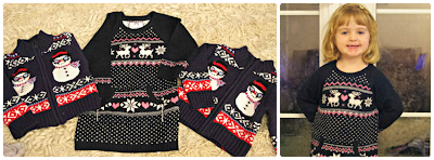 Christmas jumpers for festive children