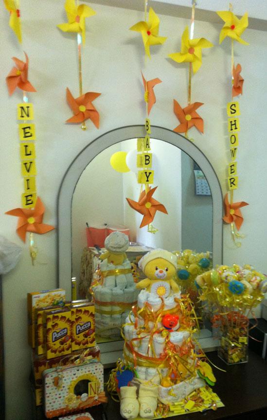 Yellow Baby Shower Scrappalific