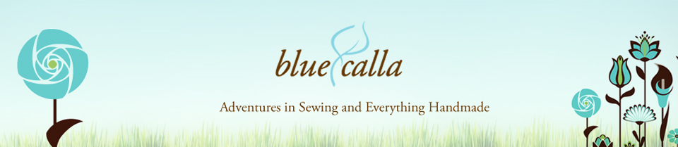 Blue Calla - Adventures in Sewing