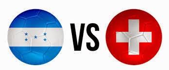 Honduras (eliminado) 0 - 3 Suiza. Grupo E