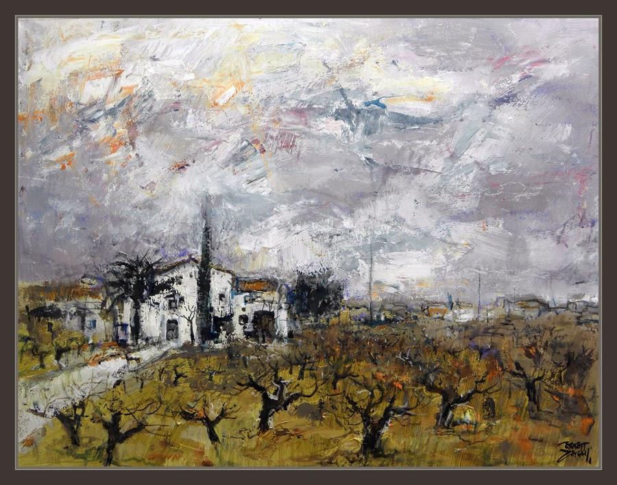 Ernest descals artista pintor la granada pintura pened s - Trabajo de pintor en barcelona ...