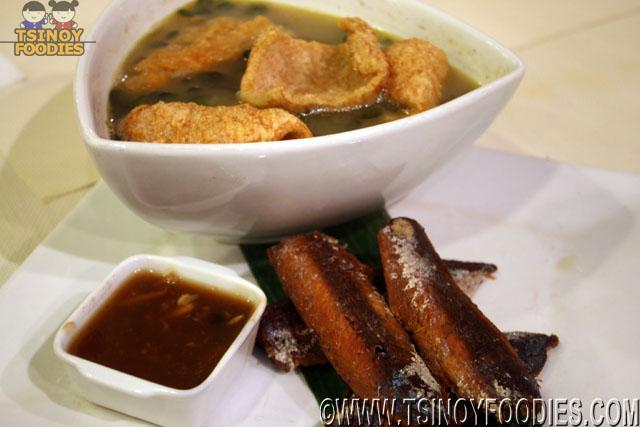 chicharon monggo at crispy paksiw
