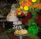 Mesa de doces.