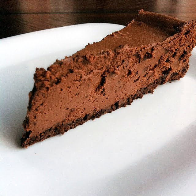The Road to Oklahoma: Guinness Chocolate Birthday Cheesecake
