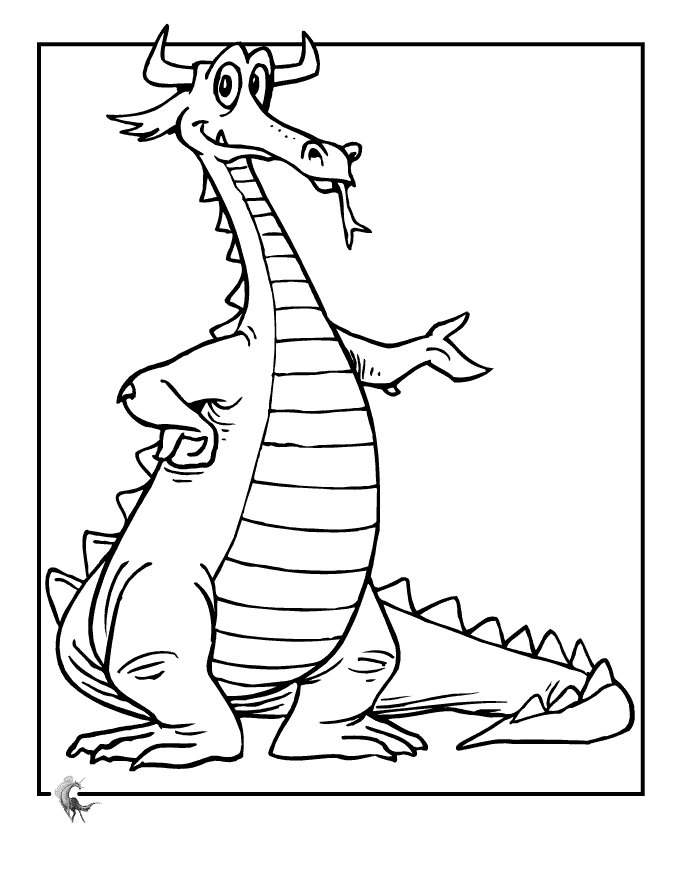 Dragon Coloring Pages Free Printables For Kids >> Disney ...