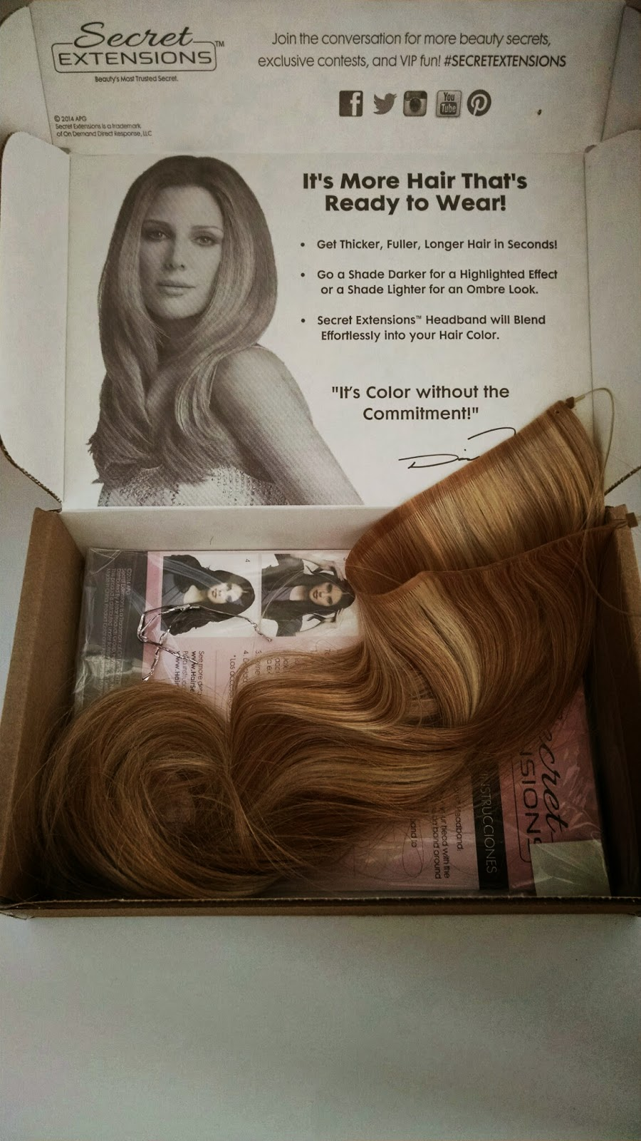 Secret extensions review the budget beauty blog secret extensions review pmusecretfo Gallery