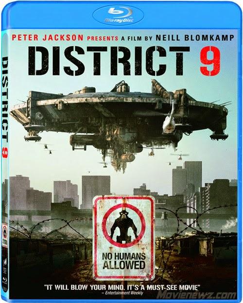 District 9 2009 Dual Audio Hindi English 350mb BRRip 480p