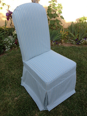 how to sew slipcover chair